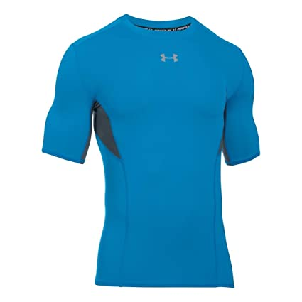 Amazon.com  Under Armour Men s CoolSwitch Short Sleeve Compression ... a025a92b25