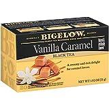 Bigelow Vanilla Caramel Black Tea Bags 20-Count Boxes (Pack of 6), 120 Tea Bags Total.  Caffeinated Individual Black Tea Bags, for Hot Tea or Iced Tea, Drink Plain or Sweetened with Honey or Sugar