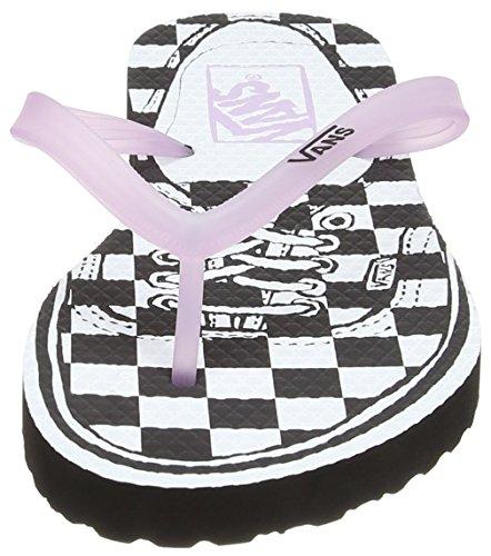 Vans Hanelei - Zapatillas Mujer Rosa (authentic/checkerboard/winsome Orchid)