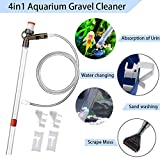 Toopify Aquarium Gravel Cleaner with Glass