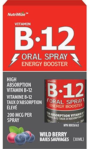 Innotech Nutrition Nutrimize B12 Oral Spray, Berry