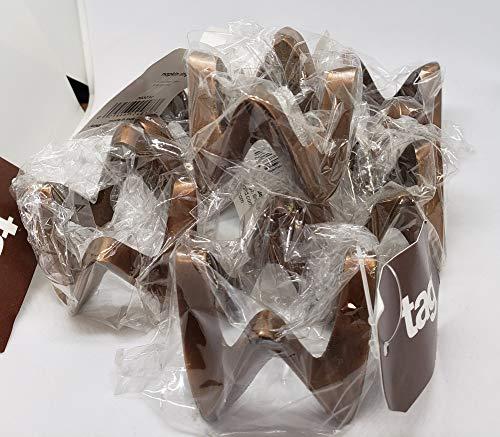 tag Sierra Bronze Napkin Ring, Copper, Set of 6