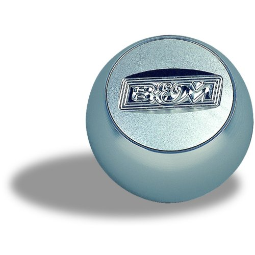 Quicksilver Knob (B&M 80534 QuickSilver Replacement Billet Shifter Knob with SAE Threads)