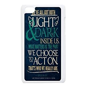 iPod Touch 4 Phone Cases White Harry Potter DTG149882