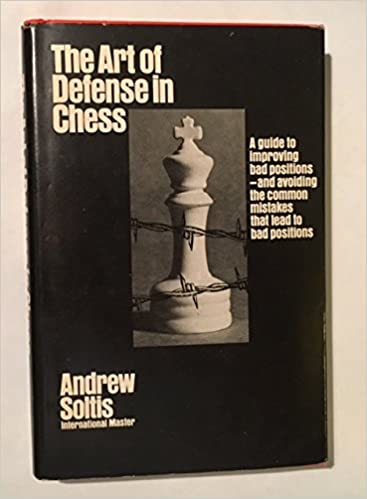 The Art Of Defense In Chess McKay Library Andrew Soltis Wallace E Keller Archie Ferguson 9780679130437 Amazon Books