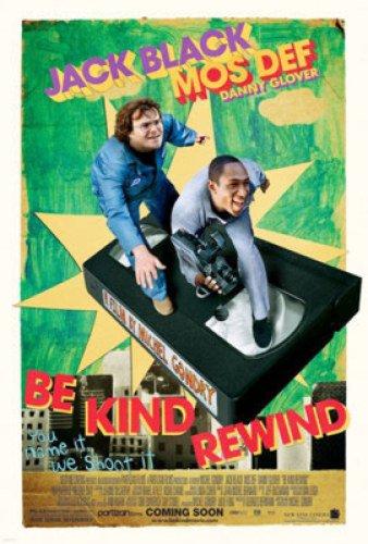 Be Kind Rewind 27X40 Single-Sided Regular Jack Black -