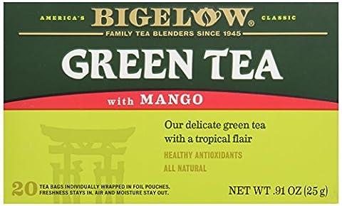 Bigelow Tea Green Tea with Mango, 20 ct - Own Manga