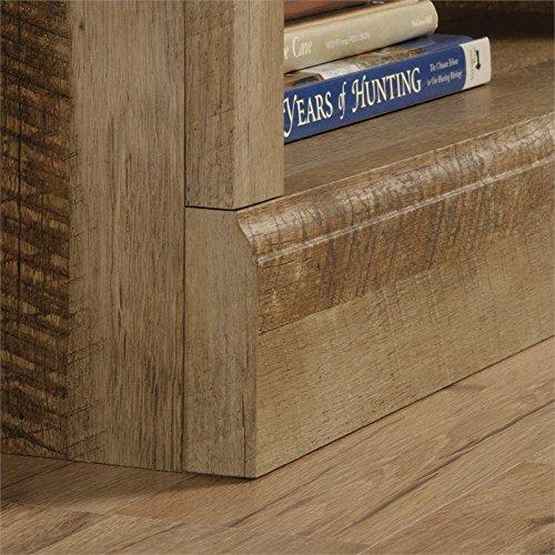 Sauder 417223 East Canyon 5 Shelf Bookcase, L: 29.29'' x W: 13.39'' x H: 71.02'', Craftsman Oak finish by Sauder (Image #3)