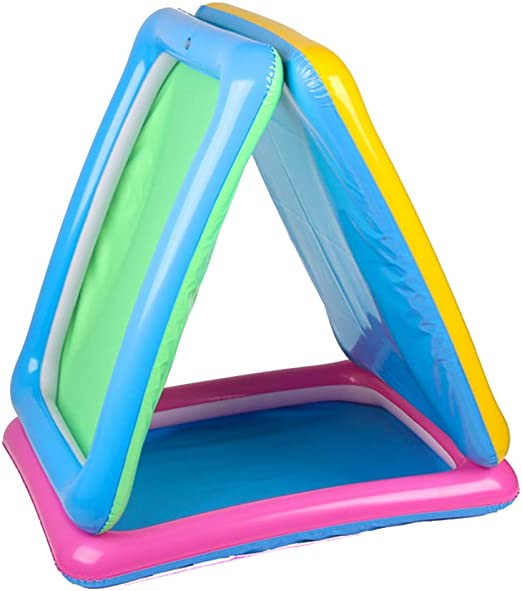 Blue Misciu Inflatable Sand Tray Castle Sand Table Children Kids Indoor Play Sand Mud Toy