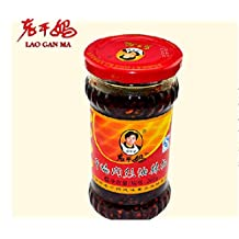 Lingduan(Lao Gan Ma) Black Bean Chilli Sauce,Chili Crisp Sauce 210g(7.410z)