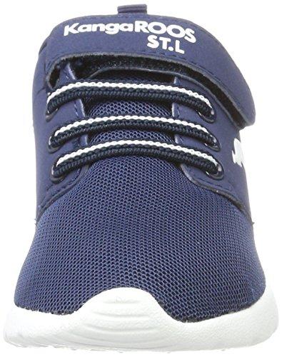 KangaROOS Hinu Ev - Zapatillas Unisex Niños Blau (K Blue)