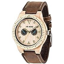 WeWood Leo Leather Beige Watch