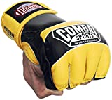 Ringside Combat Sports Pro Style MMA Gloves, Neon Yellow, Large