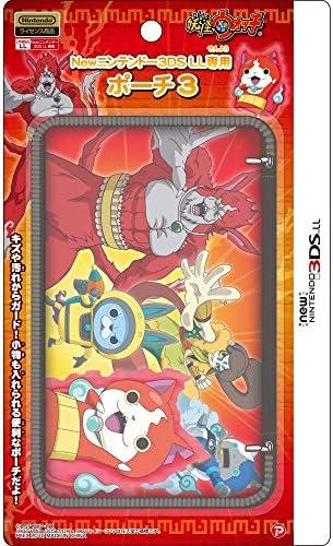 妖怪ウォッチ new NINTENDO 3DSLL 専用 ポーチ3 レッドVer.
