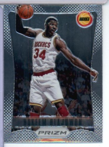 Rockets Olajuwon Hakeem Card - 2012/13 Panini Prizm Basketball Card #155 Hakeem Olajuwon Houston Rockets
