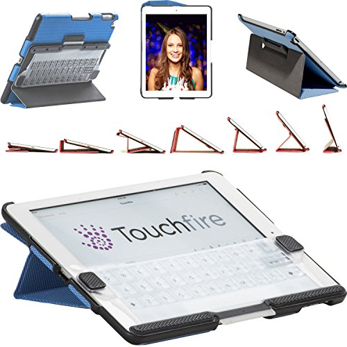 Touchfire Ultra-Protective Case, 3-D Keyboard, Sound Booster & Magnetic Mount for iPad Air 2 - Black ()