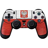Countries of the World PS4 Controller Skin – Poland Flag Distressed