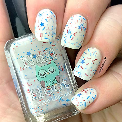 Stars and Stripes Forever July 4th Indie Polish (Handmade & 5-Free)