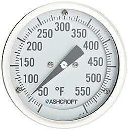Ashcroft EI Series Bimetal Thermometer, 3\