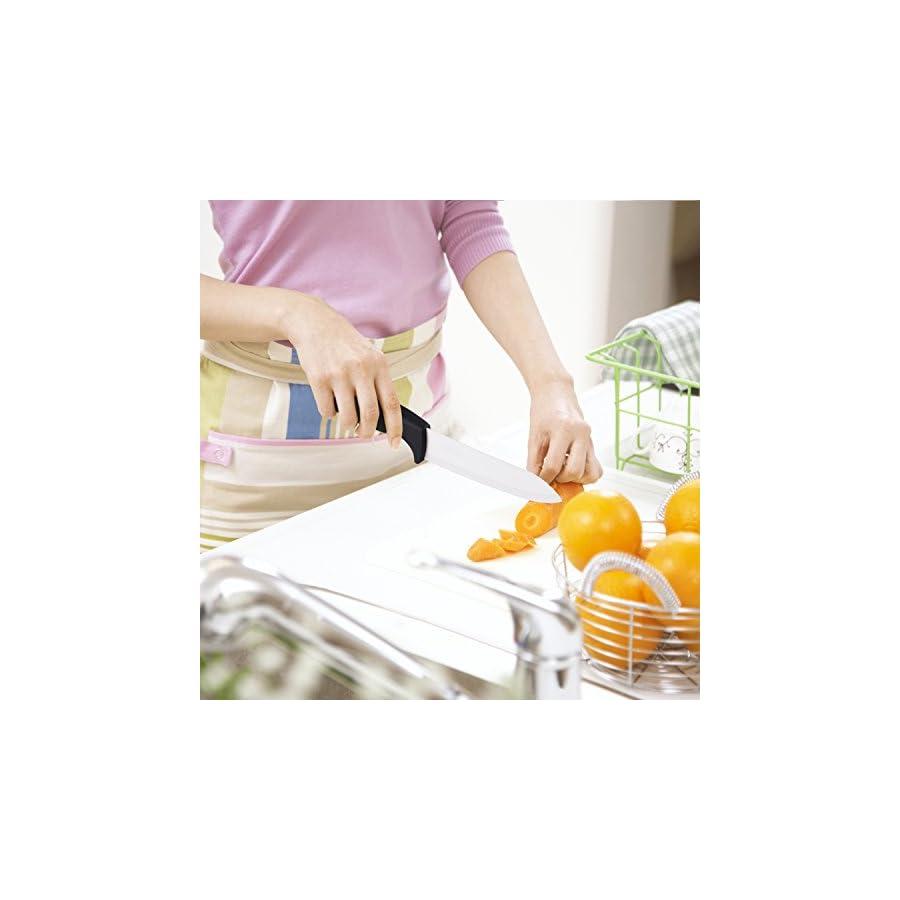 Knife Set, Kitchen Knife Set. Kealive 5 Piece Handle Kitchen Chef Knives Sets Including Carving Utility Chef and Paring Knives Set, Black Knife Set, Chef Knife Set.