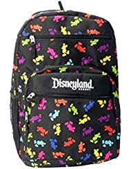 Disneyland Resort Multi-Color Mickey Silhouettes Backpack