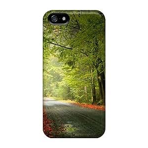 Excellent Design Nature Road Phone Case For Iphone 5/5s Premium Tpu Case