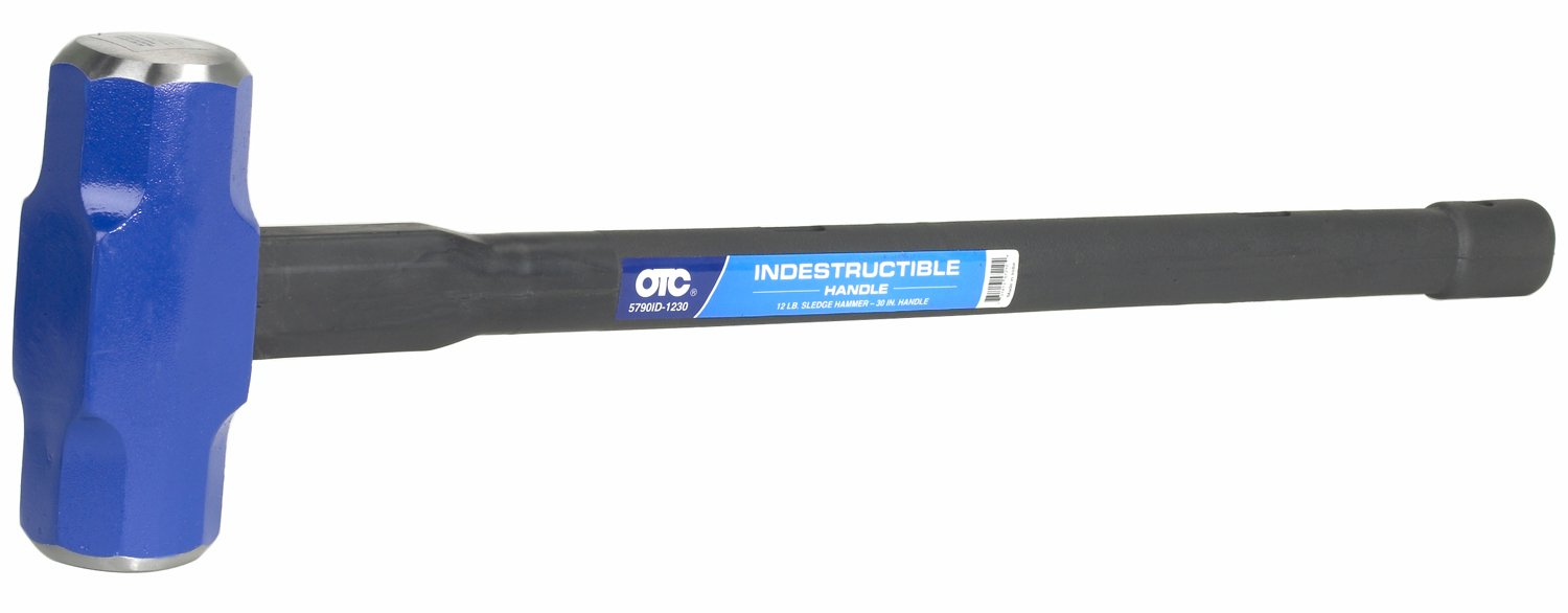 OTC (5790ID-1230) Double Face Sledge Hammer - 12 lb. Head, 30'' Handle