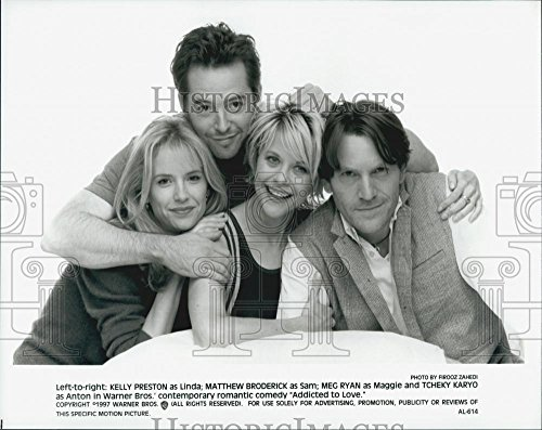 1997 Press Photo Cast Of Film Addicted To Love - DFPG16479 (Addicted Film)