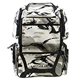 Latitude 64 DG Luxury Backpack Disc Golf Bag Arctic Camo & Black