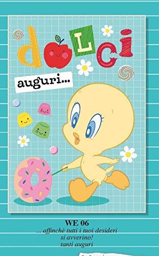 Tarjeta Felicitación cumpleaños Piolín Baby tartas ...