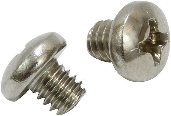 """#8-32 x 1/"""" Phillips Pan Head 304 Stainless Machine Screw MARINE GRADE Qty 100"""