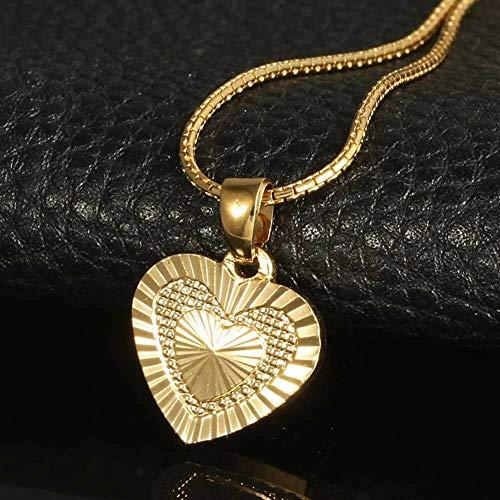 Romantic Fashion Heart-shape Gift Choker Charm Jewelry Pendant Women Necklace