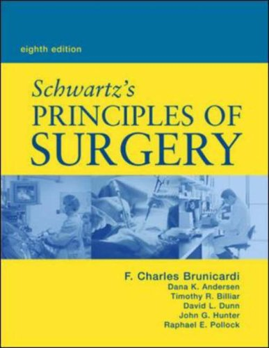 Schwartz's Principles of Surgery, Eighth Printing