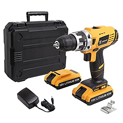 DEKO Cordless Drill Driver Lithium-Ion Mobile Power Tools Mini Electric Drill