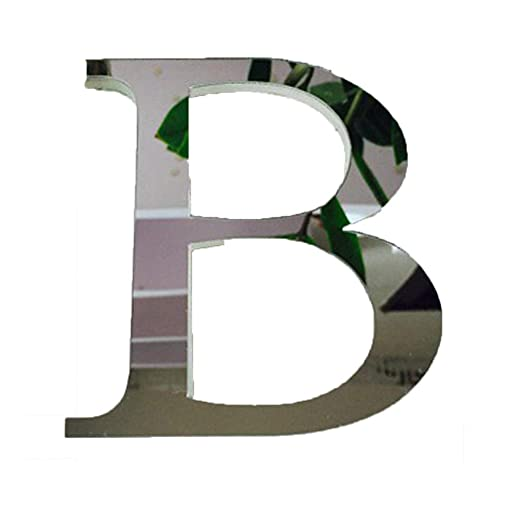 26 Letters Decor with Reflecting Mirror G A-Z with /& Creative Wall Stickers for Home Decor ❤