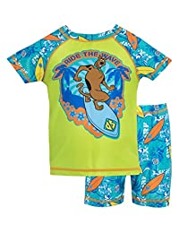Scooby Doo Boys' Scooby Doo Two Piece Swim Set