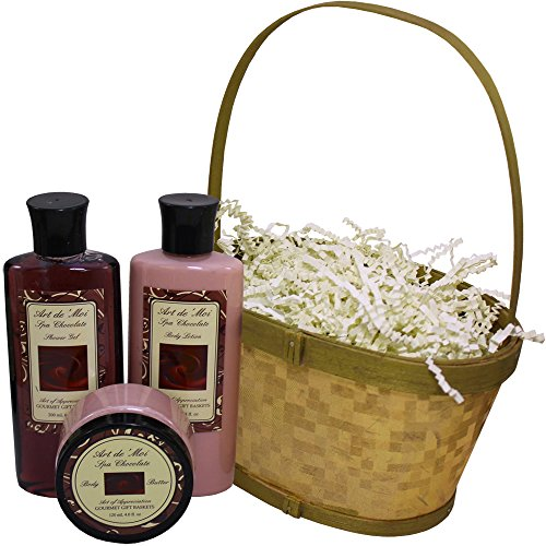 51YdFhbtU2L Art of Appreciation Gift Baskets Dipped in Chocolate, Truffle Spa Bath and Body Gift Basket Set