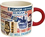 The Unemployed Philosophers Guild Presidential Slogan Mug, Multicolor, 12 ounce