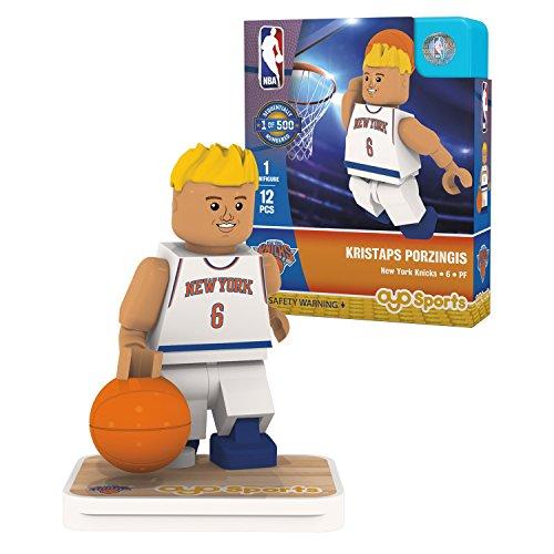 OYO Sports NBA Minifigure New York Knicks Kristaps Porzingis