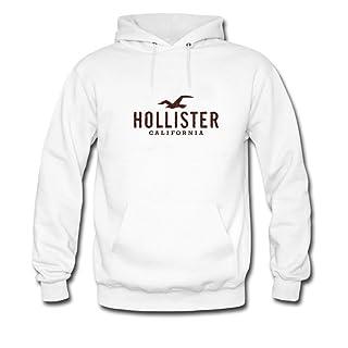 Hollister California - Sudadera con capucha para hombre, diseño con logotipo impreso