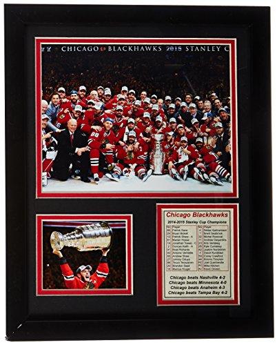 NHL Chicago Blackhawks Legends Never Die Framed Photo Collage, Celebration, 11