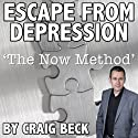 The Escape from Depression: Cure Depression with the Now Method Audiobook by Craig Beck Narrated by Craig Beck