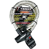 """Trimax TG2236SX High Security Armor Plated Stainless Steel Locking Cable (36"""" length x 22mm)"""