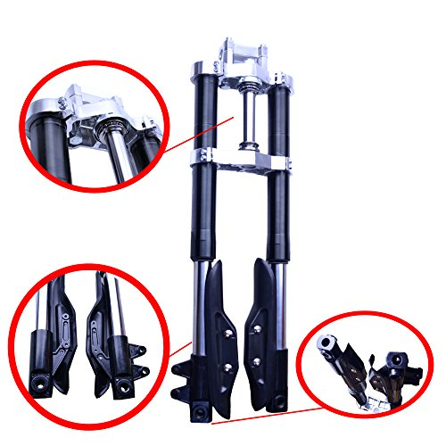 FLYPIG Pit Bike Inverted Forks for Crf50 Xr50 Crf Xr 50 SSR SDG Coolster Z 107 125 ()