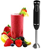 Immersion Hand Blender - with Whisk Powerful 300- Watt - Stick Blender H