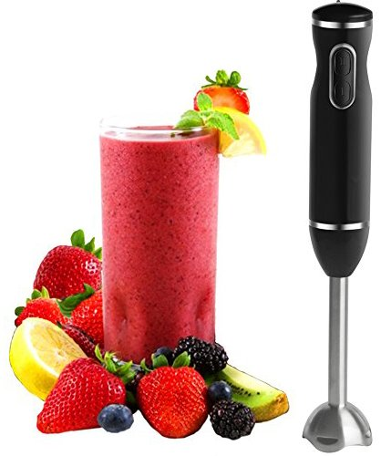 Immersion Blender - Hand Blender with Whisk - by Moss & Stone (2 Speed)
