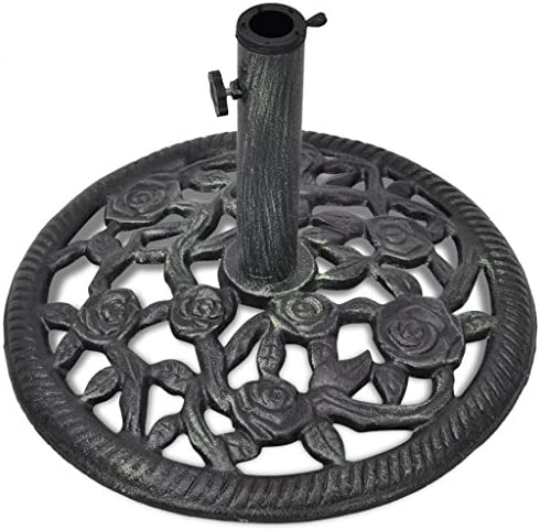 Anself Umbrella Base Stand Cast Iron 12 kg 48 cm
