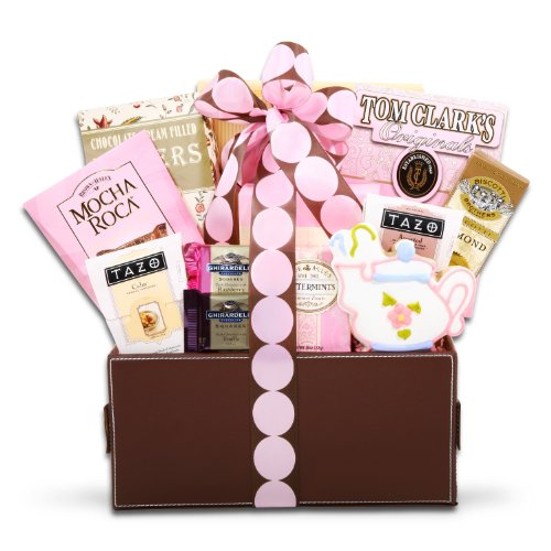 Pretty in Pink -Luxurious Valentines Day Spa Gift Basket for Her