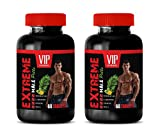 libido Lift for Men - Extreme Male Pills - longjack tongkat Ali Capsules - 2 Bottles 120 Tablets