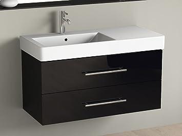 doppelwaschtisch keramik mit unterschrank. Black Bedroom Furniture Sets. Home Design Ideas